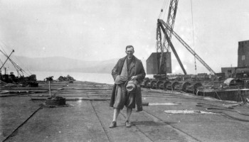 Under tow to Rosyth © Orkney Library and Archive
