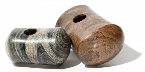Image showing pestle maceheads from Stromness Museum's collection