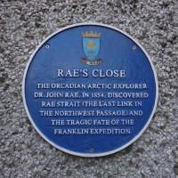 Blue Plaque for Rae's Close